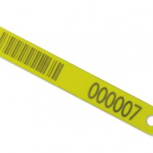 Ritchey-ID Barcoded Loop Tag - Yellow