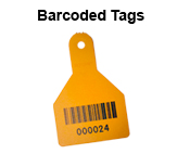 Ritchey-ID Barcoded Tags, available in a range of styles and colours