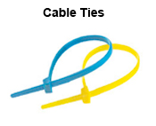 Ritchey-ID Cable Ties, Available plain, printed and in an array of colours. Plus RFID now available