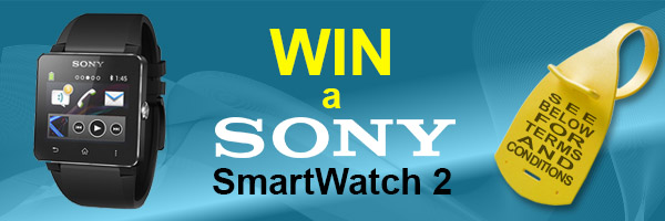 order your industrial identification solutions and you can win a Sony Smart Watch